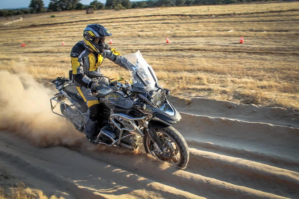 Curso escuela moto trail off-road