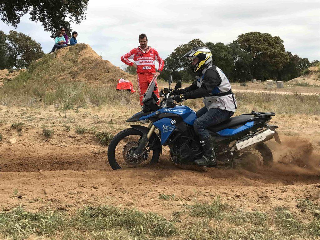 Curso Moto Trail Fesh Fesh Pista de arena