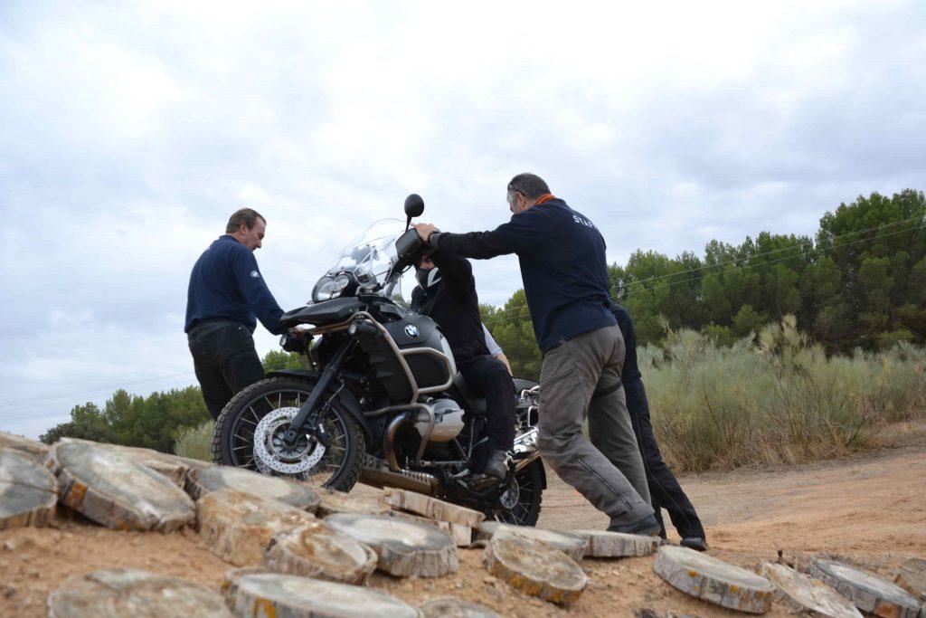 Curso Moto Trail Circuito Rampa