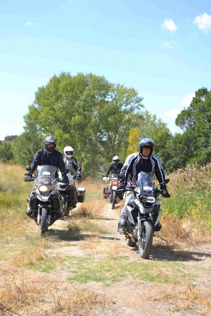 Curso ruto off road moto trail madrid