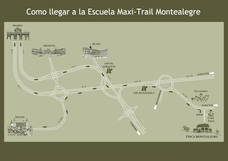 Plano finca montealegre escuela de moto trail